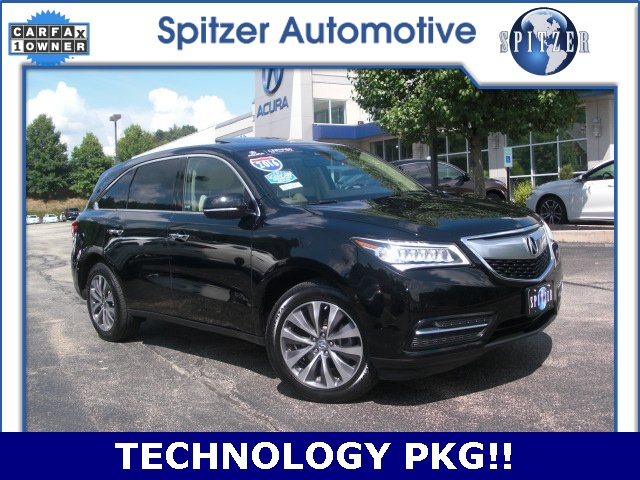PreOwned Acura MDX L D Sport Utility In Ontario MC - Acura mdx pre owned