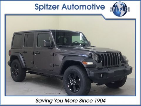 New 2020 JEEP Wrangler Unlimited Sport 4x4 Sport Utility