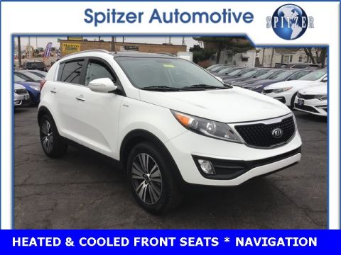 Pre-Owned 2016 Kia Sportage EX With Navigation & AWD